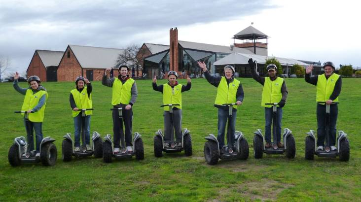 RedBalloon Segway Tour in the Yarra Valley - Family