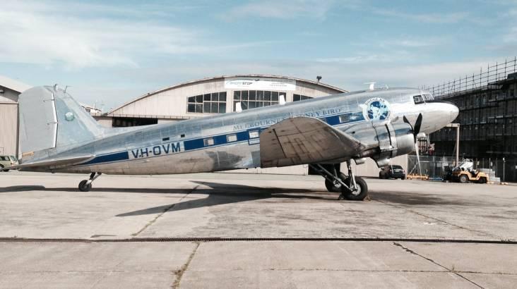 Historic Plane Silver Clipper Dinner Flight
