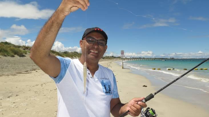 City Beach Fishing Lesson - 3 Hours