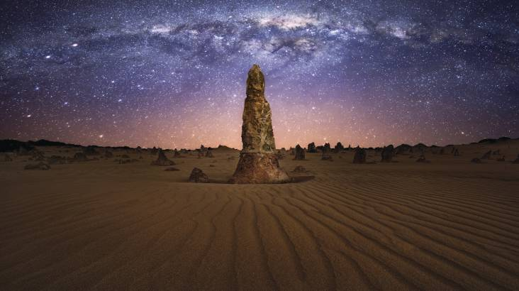 Pinnacles Sunset Dinner, Stargazing and Wildlife Tour