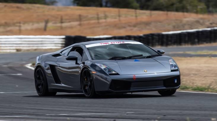 Drive a Lamborghini Race Car at Mallala Raceway - 10 Laps