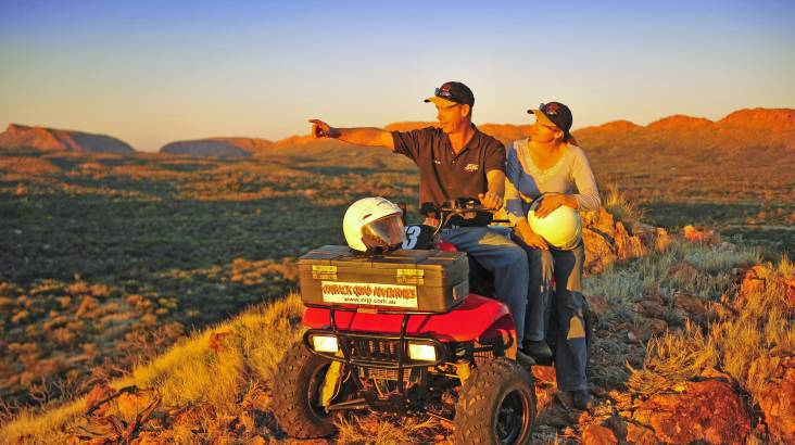 RedBalloon Outback Quad Bike Rush Tour