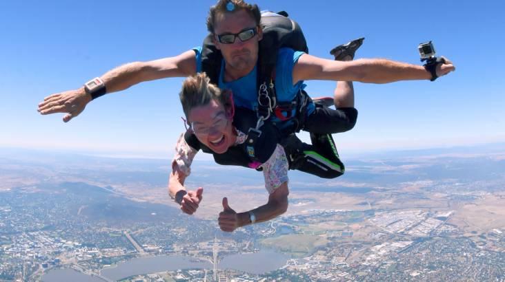 Canberra Tandem Skydive - 15,000ft