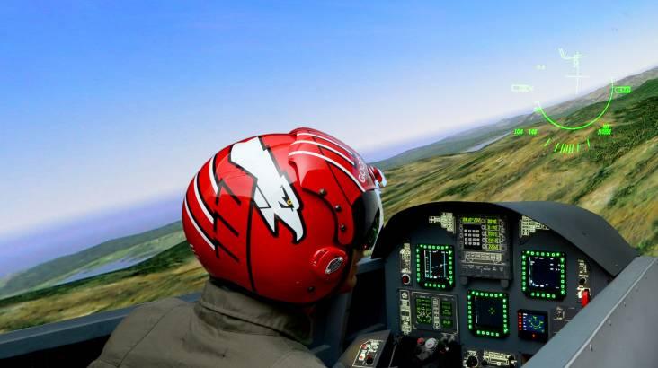 F/A-18 Jet Flight Simulator Experience - 30 Minutes