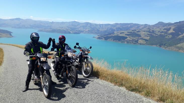 RedBalloon Banks Peninsula Guided Motorcycle Tour