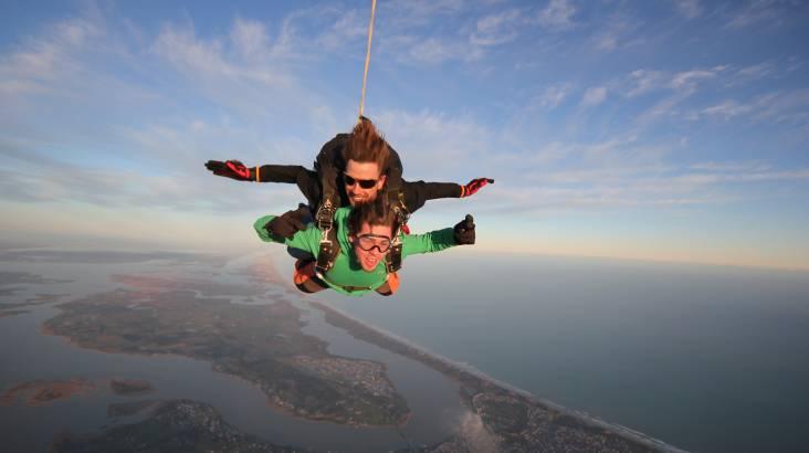 15,000ft Skydive Tandem Jump Over The Fleurieu Peninsula