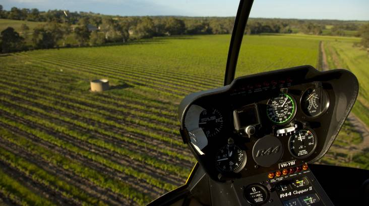 20 Minute Scenic Helicopter Flight over Barossa - For 2