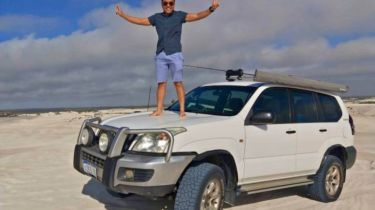 4WD Adventure to Pinnacles with Beach Fishing - Full Day