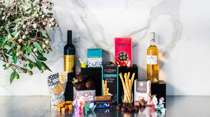 Shiraz, Rosé and Gourmet Treats Gift Pack