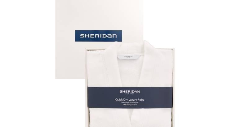 Luxury Sheridan Robe for Women - White