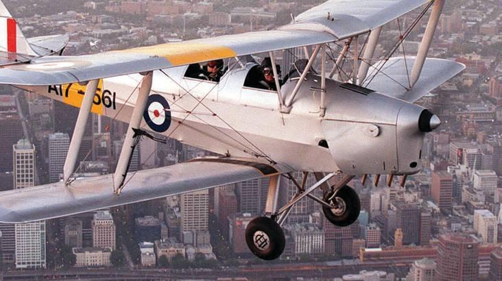 Tiger Moth Joy Flight - 25 Minutes