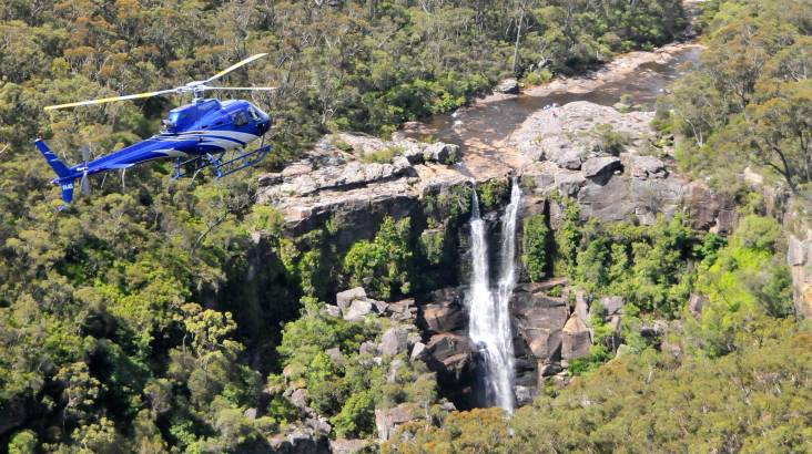RedBalloon South Coast Waterfall Discovery Helicopter Flight - For 2
