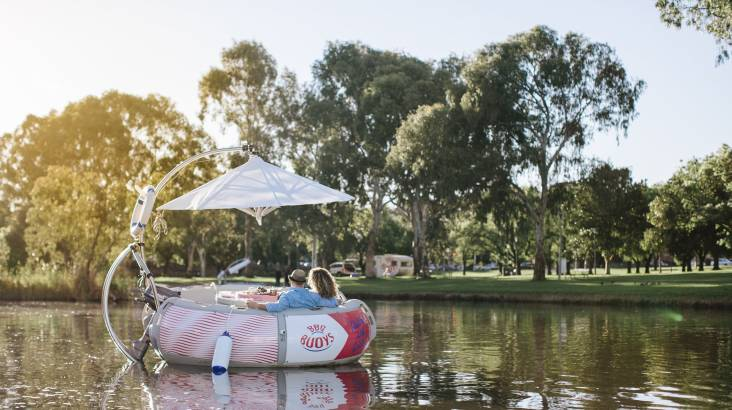 2 Hour BBQ Boat Rental - For 2