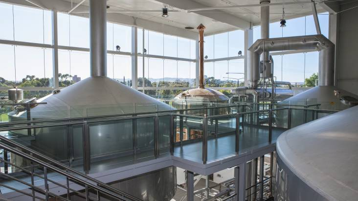 Brewery Tour with Food and Beer Tasting