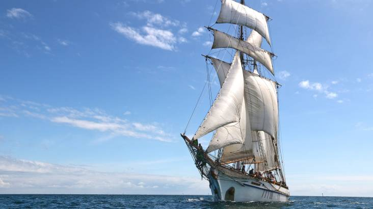 Tall Ship Day Cruise with Lunch and Souvenir - 5 Hours