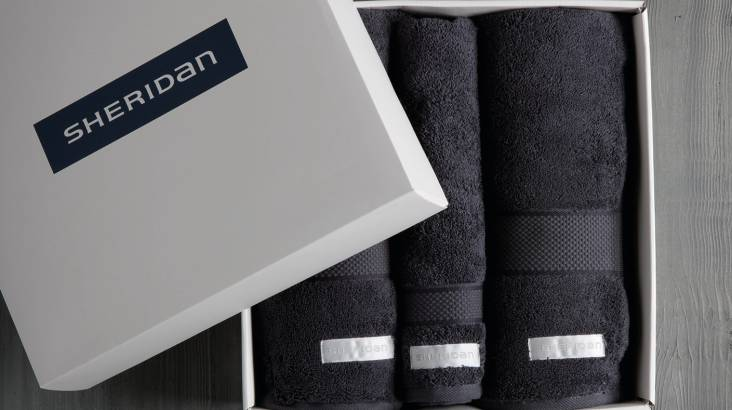 Luxury Sheridan Towel Gift Set - Grey