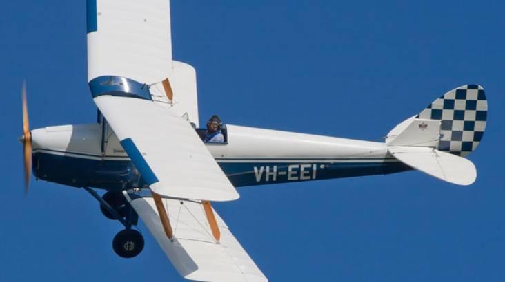 Tiger Moth Adventure Flight - 30 Minutes