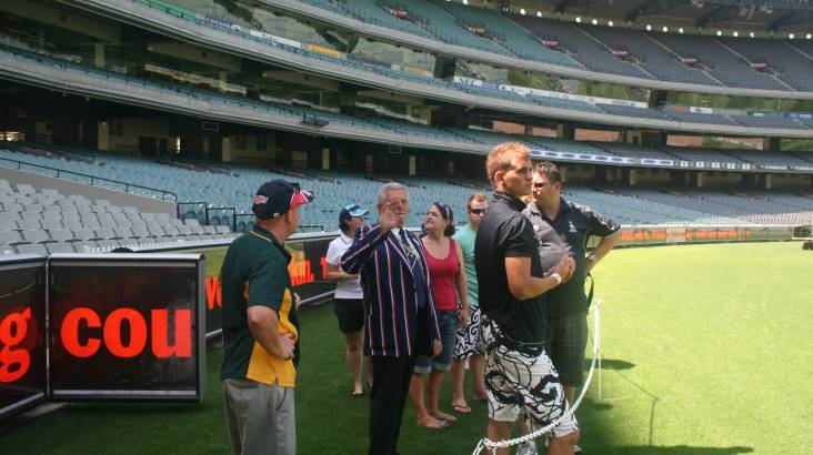 Behind the Scenes Sport Tour of MCG and Flemington