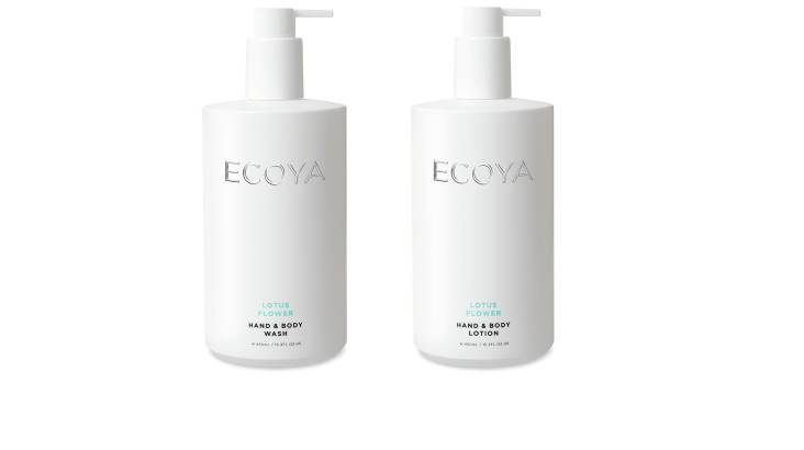 RedBalloon Ecoya Body Wash and Body Lotion Duo - Lotus Flower