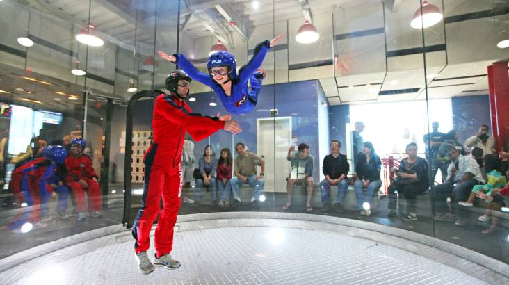 RedBalloon iFLY Indoor Skydiving - 4 Flights