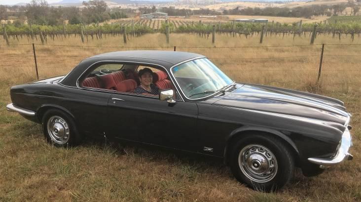 1975 Jaguar XJC Full Day Hire - Canberra