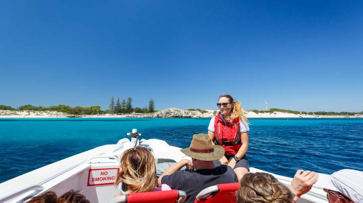 RedBalloon Rottnest Island - Ferry and Bike Hire - Fremantle