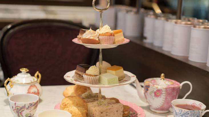 RedBalloon Champagne High Tea in Sydney CBD - For 2
