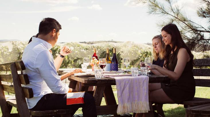 RedBalloon Private Tasting with Winemaker and 3 Course Lunch - For 2