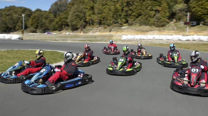 RedBalloon Raceline Karting and Monster 4X4 Thrill Ride Combo