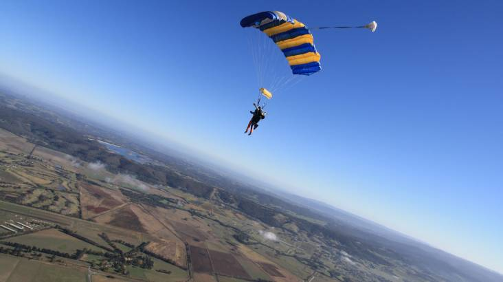 Skydive over Yarra Valley - 15,000ft - Weekend