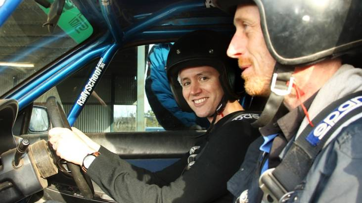 Rally Drive with Hot Lap Experience - 13 Laps - Melbourne