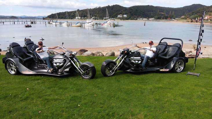 RedBalloon Bay of Islands Thrilling V8 Trike Tour - For 2