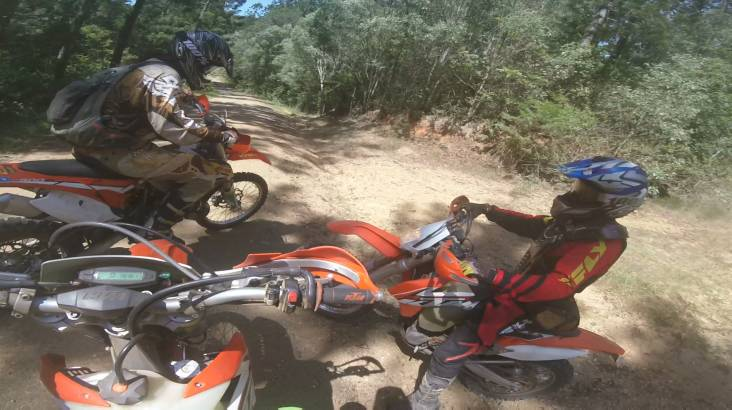 RedBalloon Dirt Bike Rental Package at QLD MOTO Park - Full Day