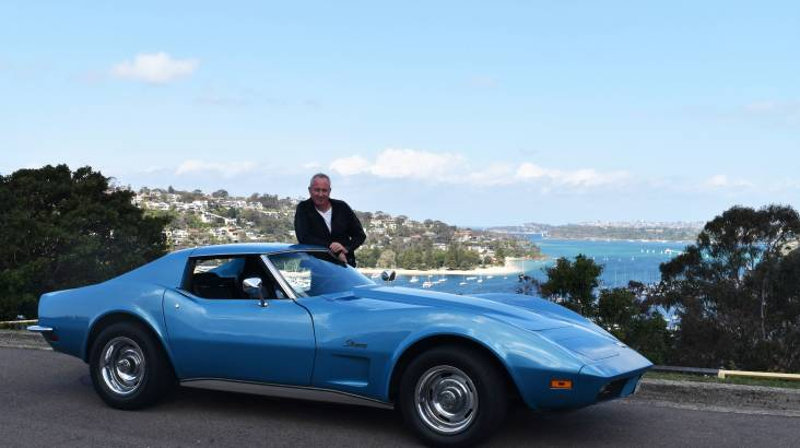 1973 Corvette Stingray Full Day Car Hire