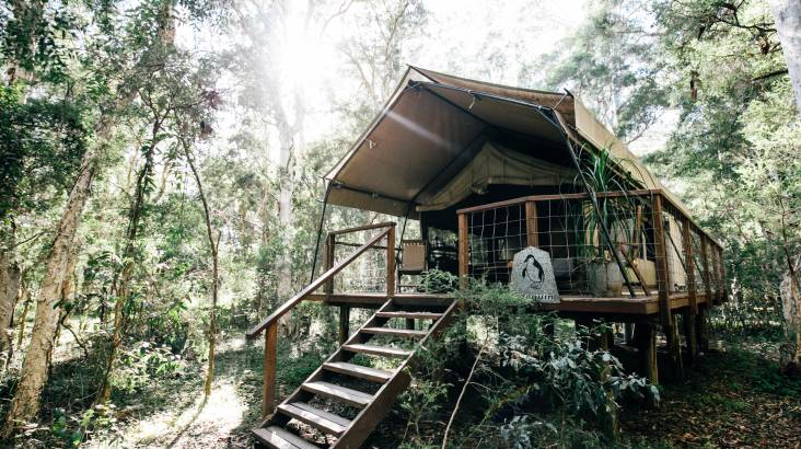 RedBalloon Midweek Glamping with Breakfast and Dinner - 1 Night