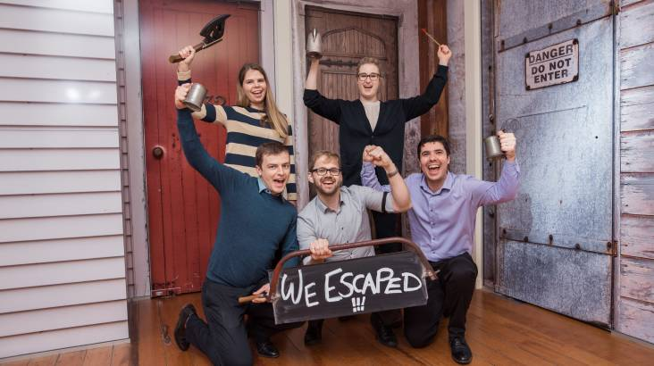 RedBalloon Beat the Clock Escape Room Experience - For 2