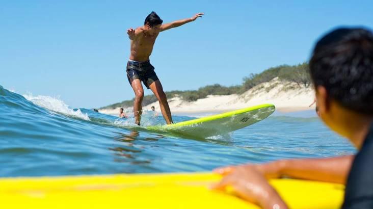 2 Night Learn to Surf Camp on South Stradbroke Island
