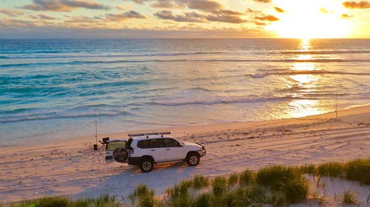 4WD Beach Fishing Safari