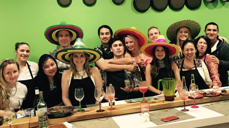 Mexican and Margaritas Cooking Class