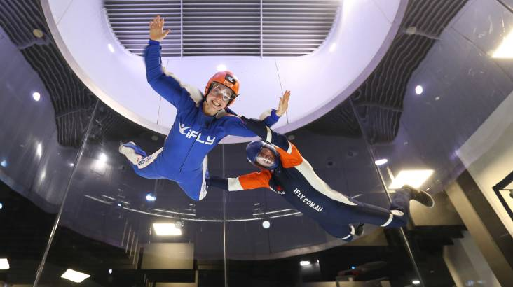 High Fly Indoor Skydive Package - 2 Flights - Penrith