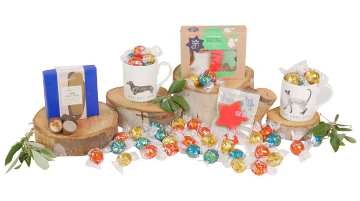 Chocolate and Gingerbread Christmas Hamper