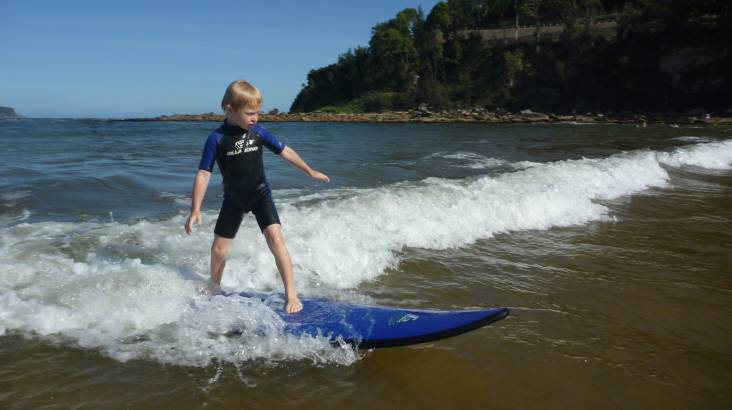 School Holiday Kids' Surf Course - 2 Lessons