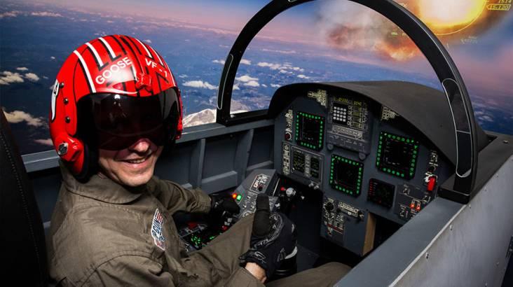 F/A-18 Jet Flight Simulator Experience - 90 Minutes
