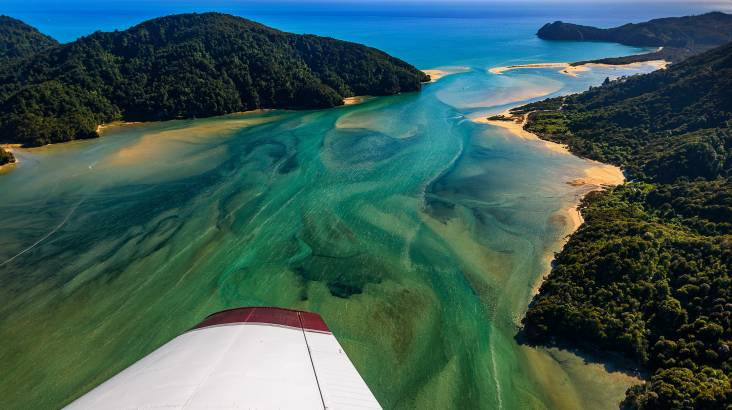 RedBalloon Abel Tasman National Park Scenic Flight - 50 Minutes