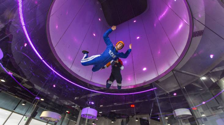 RedBalloon High Fly Indoor Skydive Package - 2 Flights