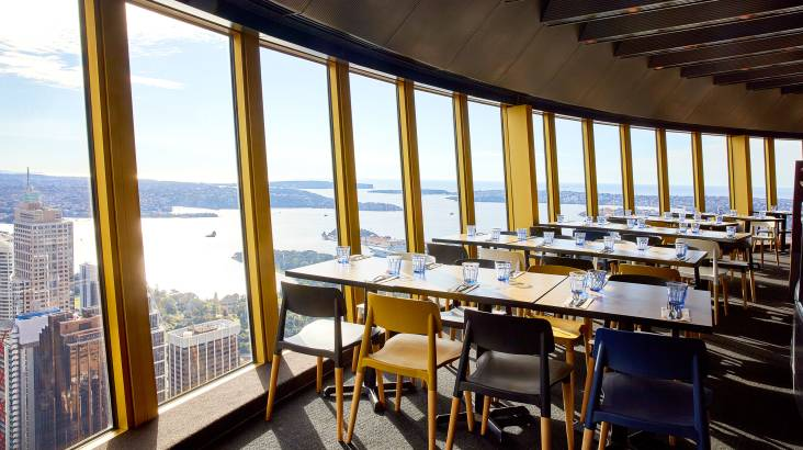Sydney Tower Revolving Restaurant Buffet - Weekend - For 2