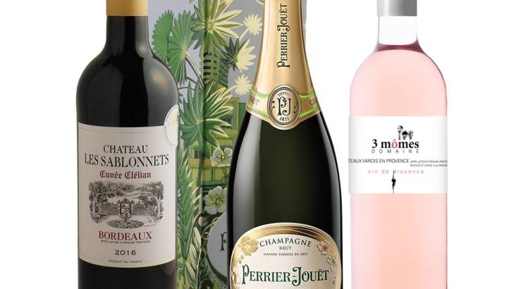 French Celebration Wine Trio