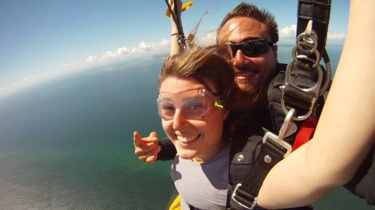 Skydive over Bribie Island (Brisbane) - 15,000ft - Weekend