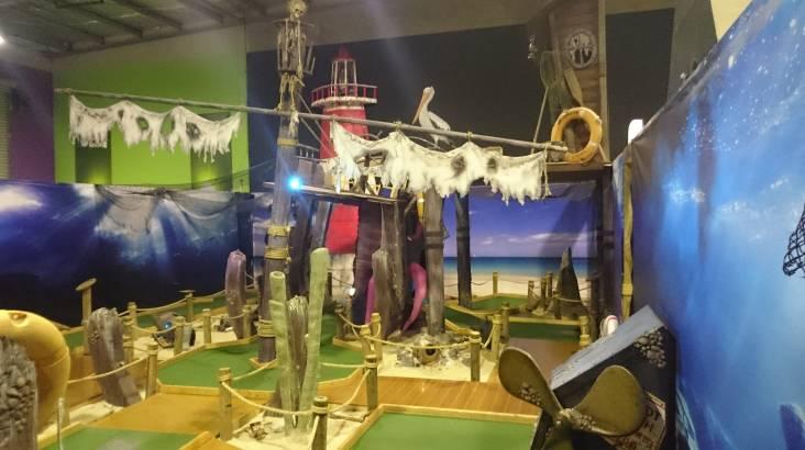 Indoor Mini Golf 18 Hole Course