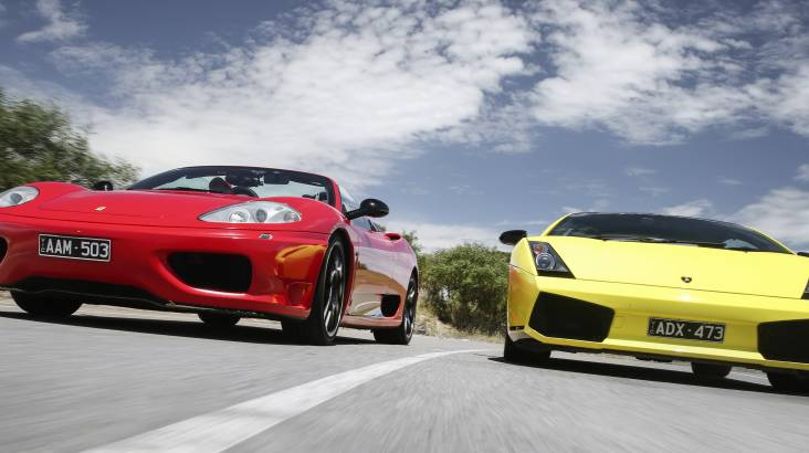 Lamborghini and Ferrari Drive Yarra Valley - 60 Minutes
